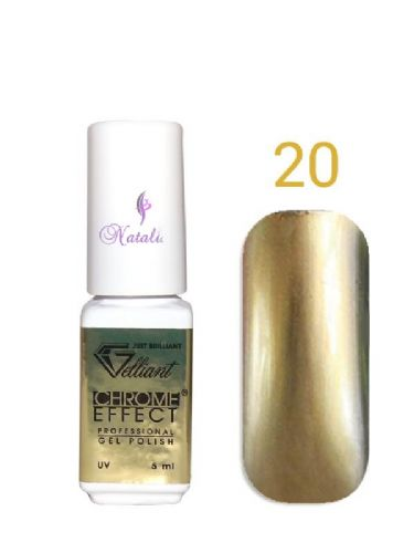Gelliant Mirror Chrome Polish nº 020 Vanilla Sky de 9 ml.